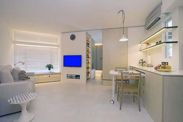 Ένα μικρό θαύμα: Εκπληκτικό διαμέρισμα 39 τετραγωνικών μέτρων (1)