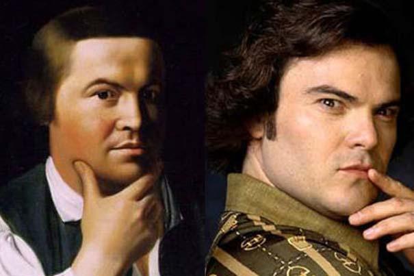 Διάσημοι που μοιάζουν με ιστορικά πρόσωπα (4)