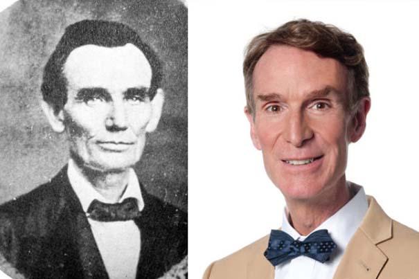 Διάσημοι που μοιάζουν με ιστορικά πρόσωπα (9)