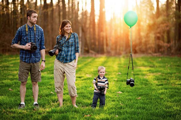 12 δημιουργικά οικογενειακά πορτραίτα (2)