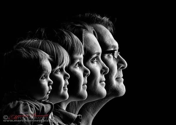 12 δημιουργικά οικογενειακά πορτραίτα (4)