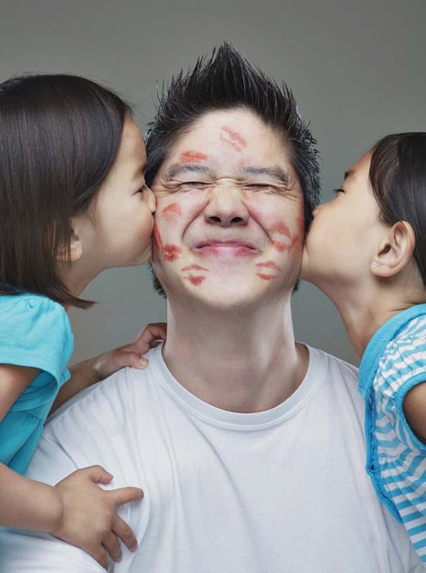 12 δημιουργικά οικογενειακά πορτραίτα (9)