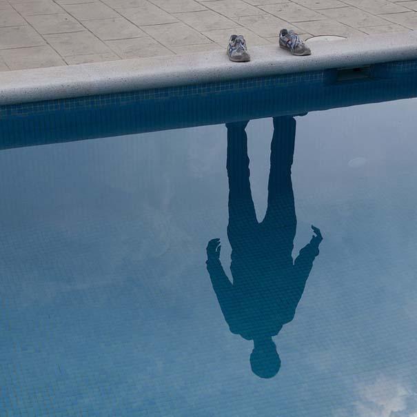 Φωτογράφος απαθανατίζει τη σκιά του (1)