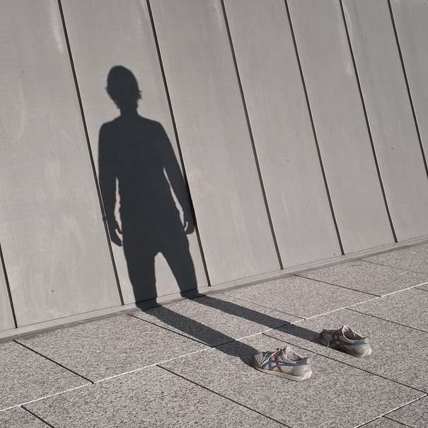 Φωτογράφος απαθανατίζει τη σκιά του (2)