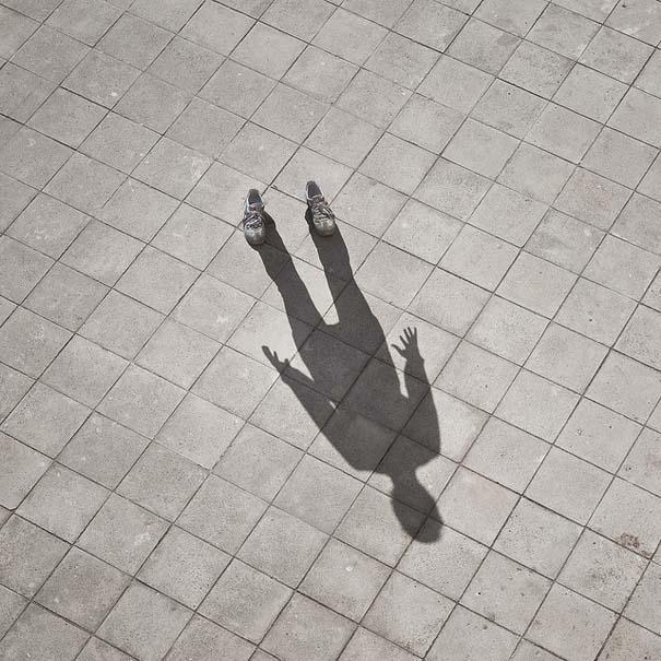 Φωτογράφος απαθανατίζει τη σκιά του (4)