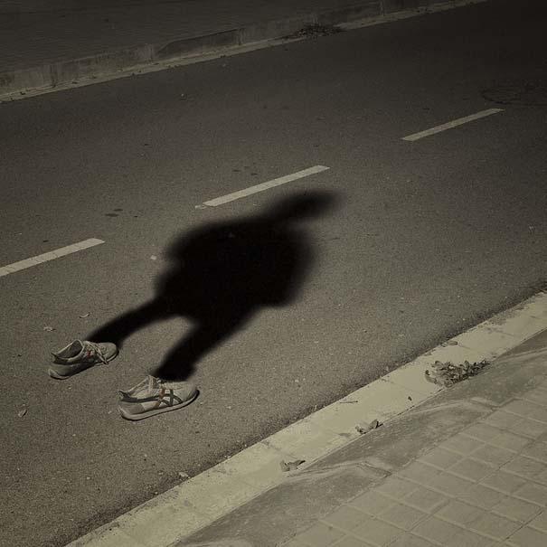 Φωτογράφος απαθανατίζει τη σκιά του (5)