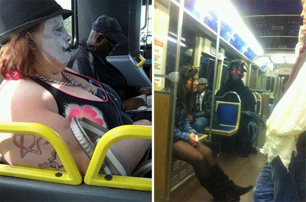 Παράξενες και κωμικοτραγικές φωτογραφίες στα μέσα μεταφοράς (1)