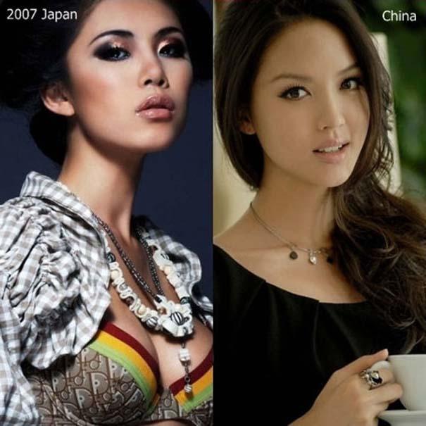 Μια δεκαετία διαγωνισμών ομορφιάς: Miss Universe vs Miss World (4)