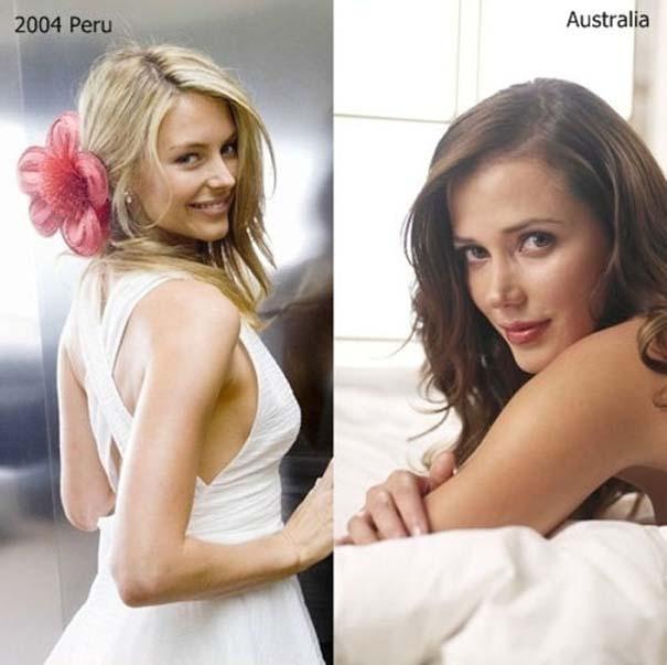 Μια δεκαετία διαγωνισμών ομορφιάς: Miss Universe vs Miss World (6)