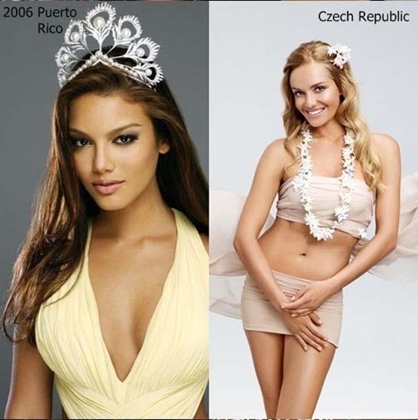 Μια δεκαετία διαγωνισμών ομορφιάς: Miss Universe vs Miss World (10)