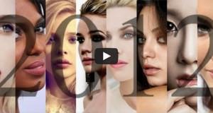 Τα 100 πιο όμορφα πρόσωπα του 2012 (Video)