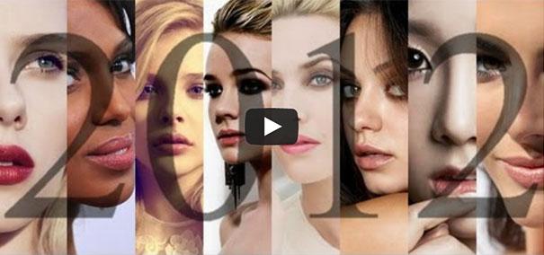 Τα 100 πιο όμορφα πρόσωπα του 2012
