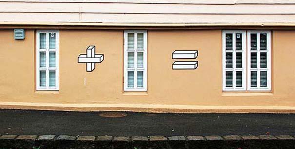 Όταν η τέχνη του δρόμου συνάντησε τα μαθηματικά (1)