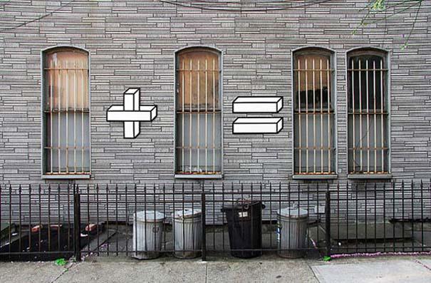 Όταν η τέχνη του δρόμου συνάντησε τα μαθηματικά (2)
