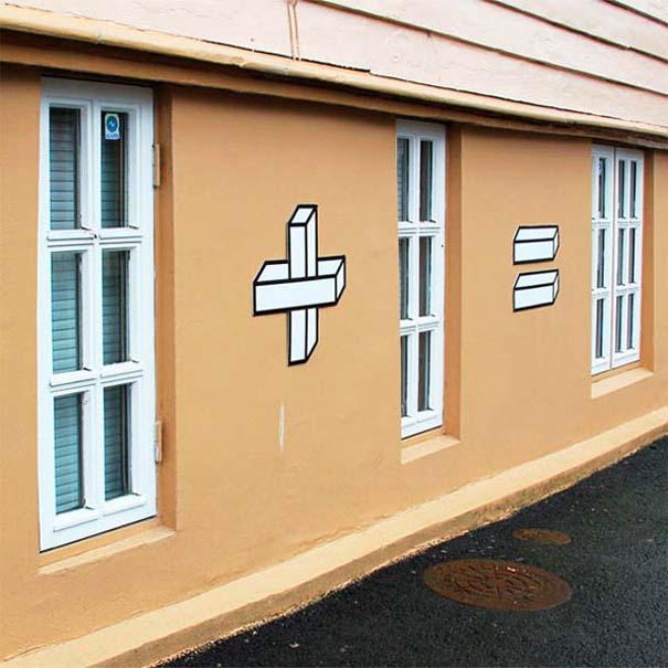 Όταν η τέχνη του δρόμου συνάντησε τα μαθηματικά (5)