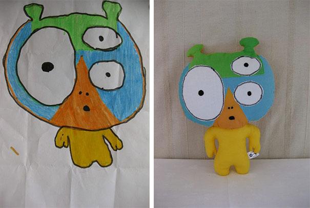 Αν οι παιδικές ζωγραφιές μετατρέπονταν σε παιχνίδια (7)