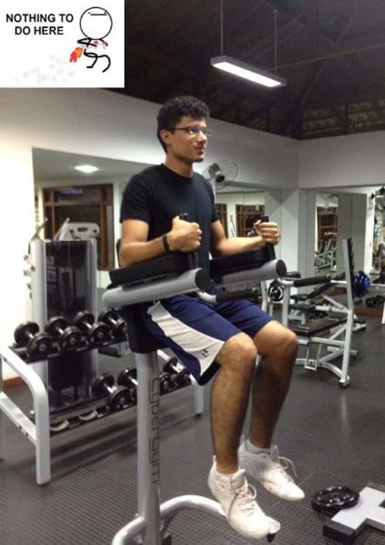 Παράξενες & αστείες στιγμές στο γυμναστήριο (4)