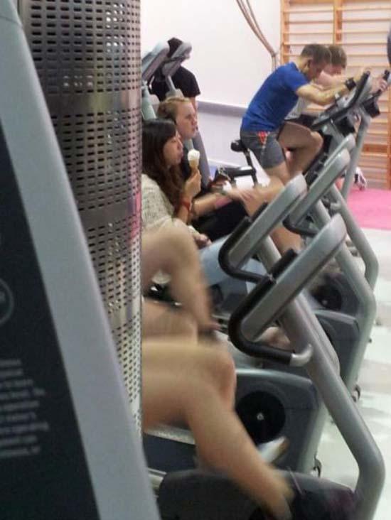 Παράξενες & αστείες στιγμές στο γυμναστήριο (6)
