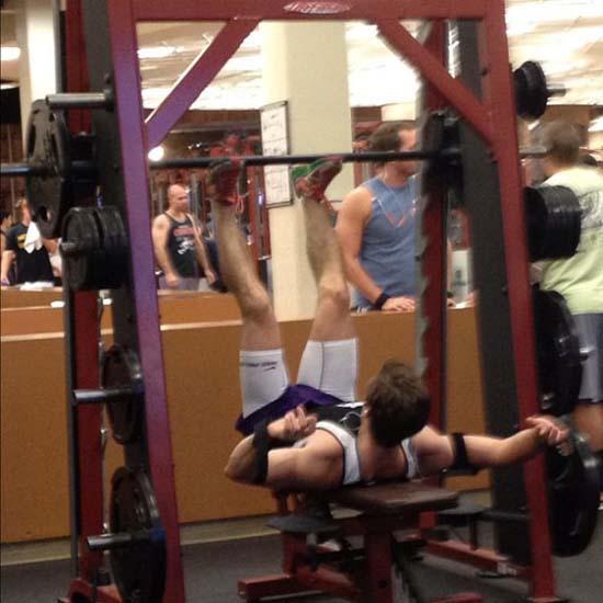 Παράξενες & αστείες στιγμές στο γυμναστήριο (14)