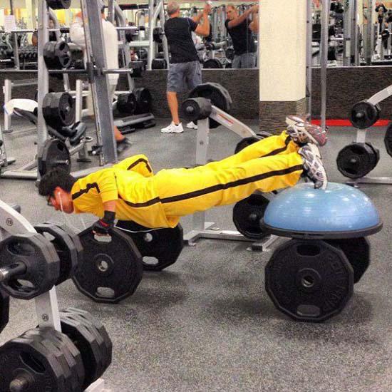 Παράξενες & αστείες στιγμές στο γυμναστήριο (15)