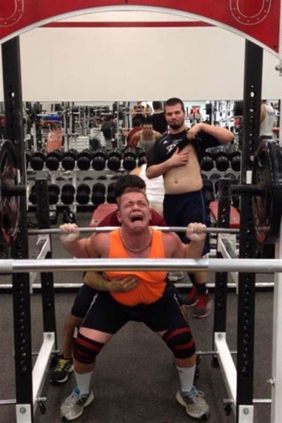 Παράξενες & αστείες στιγμές στο γυμναστήριο (35)