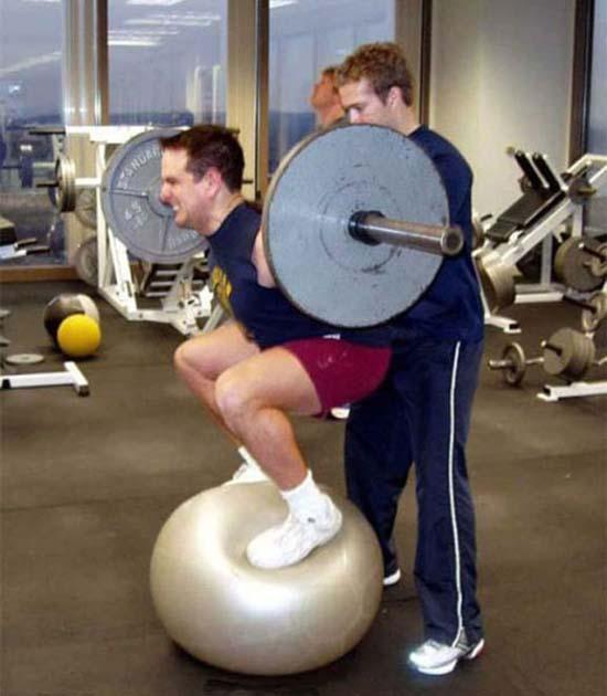 Παράξενες & αστείες στιγμές στο γυμναστήριο (19)