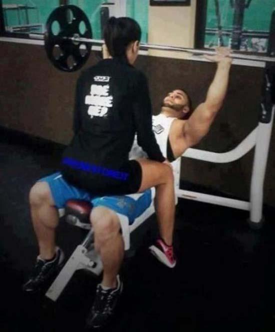 Παράξενες & αστείες στιγμές στο γυμναστήριο (21)