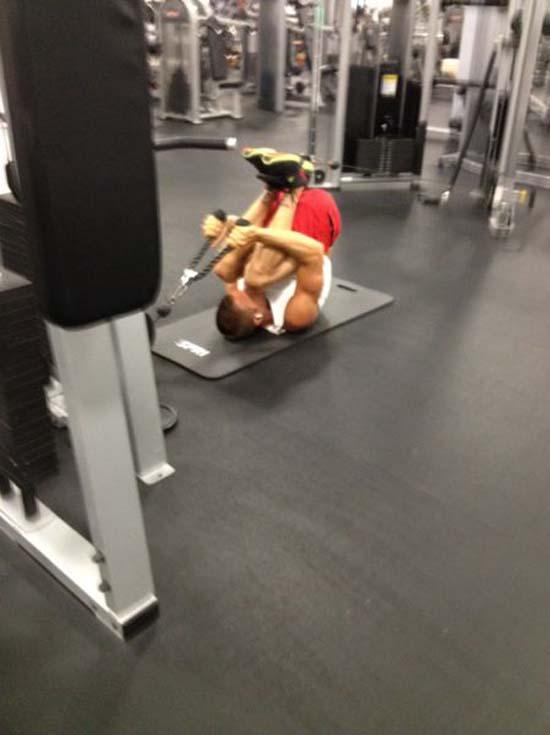 Παράξενες & αστείες στιγμές στο γυμναστήριο (27)