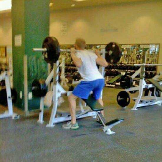 Παράξενες & αστείες στιγμές στο γυμναστήριο (31)