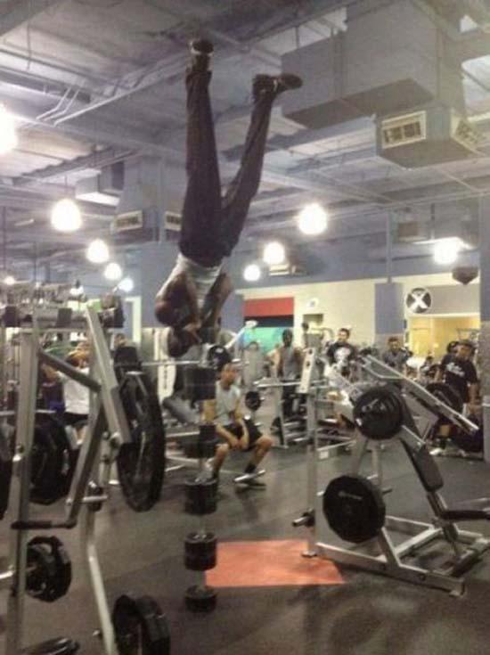Παράξενες & αστείες στιγμές στο γυμναστήριο (34)