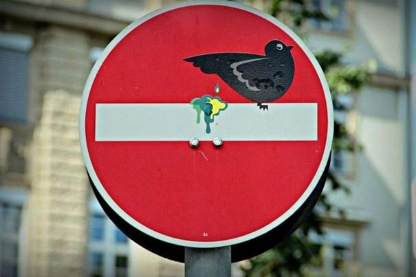 «Πειραγμένες» οδικές πινακίδες (7)
