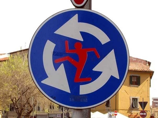 «Πειραγμένες» οδικές πινακίδες (12)