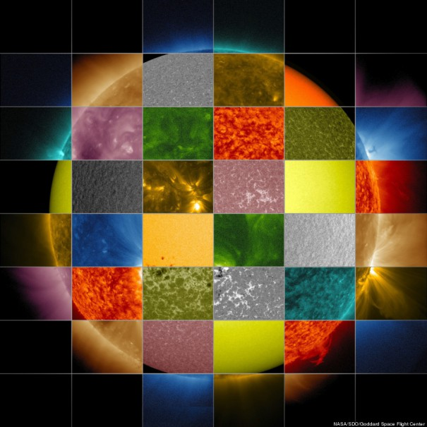 Ηλιακό κολάζ | Φωτογραφία της ημέρας