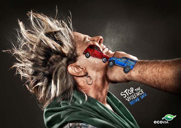 Ευρηματική καμπάνια για την πρόληψη τροχαίων ατυχημάτων (4)