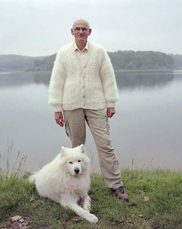 Άνθρωποι με ρούχα φτιαγμένα από το τρίχωμα των κατοικιδίων τους (2)