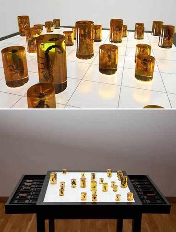 Σκάκι σε παράξενες και ασυνήθιστες μορφές (1)