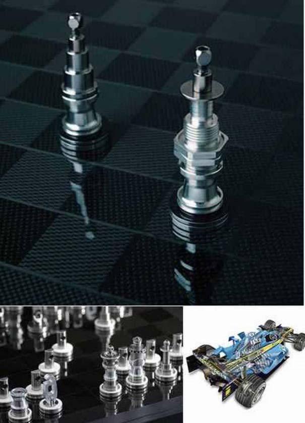 Σκάκι σε παράξενες και ασυνήθιστες μορφές (3)