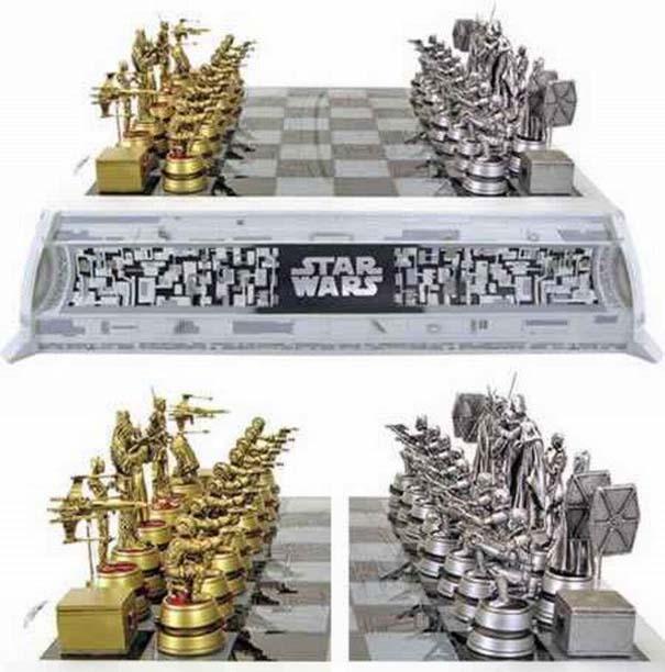 Σκάκι σε παράξενες και ασυνήθιστες μορφές (5)