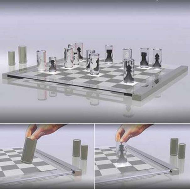 Σκάκι σε παράξενες και ασυνήθιστες μορφές (7)