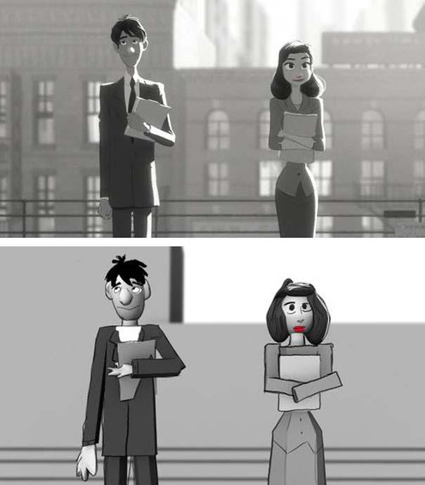 Πως θα ήταν οι ταινίες κινουμένων σχεδίων αν είχαν μηδαμινό κόστος (3)