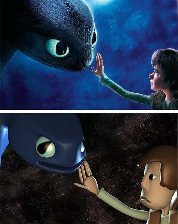 Πως θα ήταν οι ταινίες κινουμένων σχεδίων αν είχαν μηδαμινό κόστος (6)