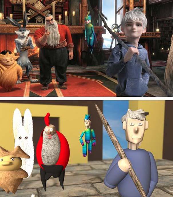Πως θα ήταν οι ταινίες κινουμένων σχεδίων αν είχαν μηδαμινό κόστος (24)