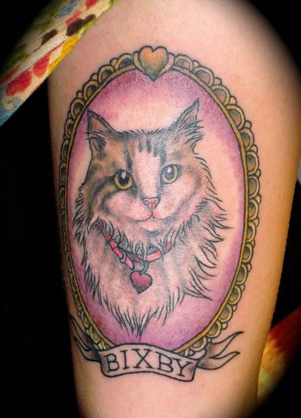 Τατουάζ με γάτες (1)