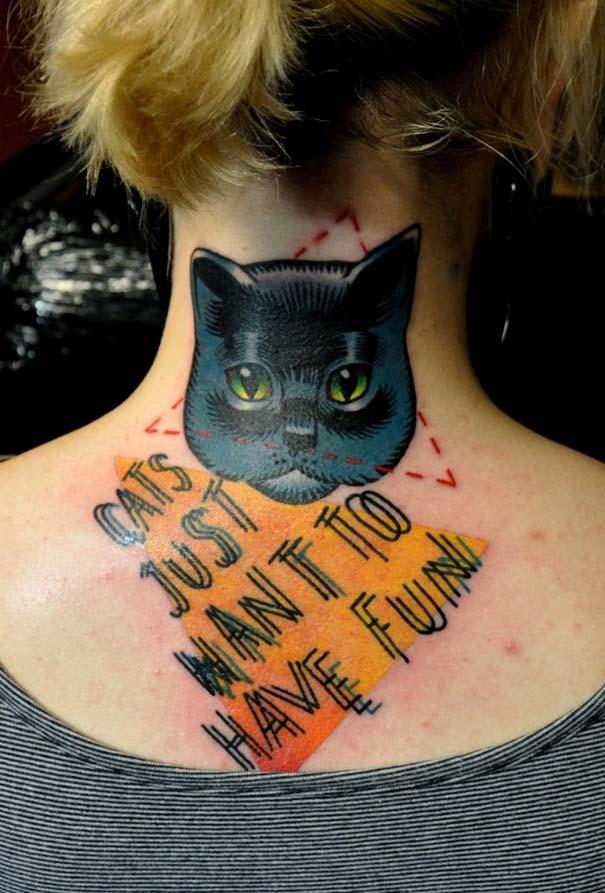 Τατουάζ με γάτες (4)
