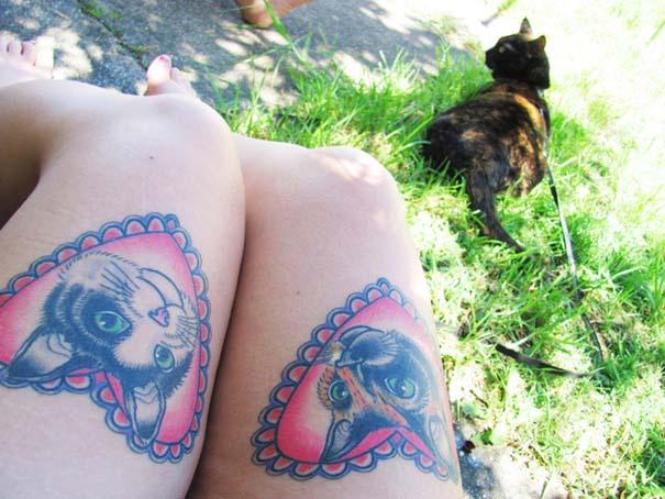 Τατουάζ με γάτες (5)