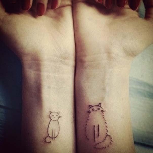 Τατουάζ με γάτες (7)
