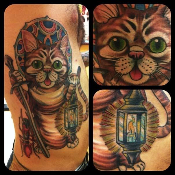Τατουάζ με γάτες (10)