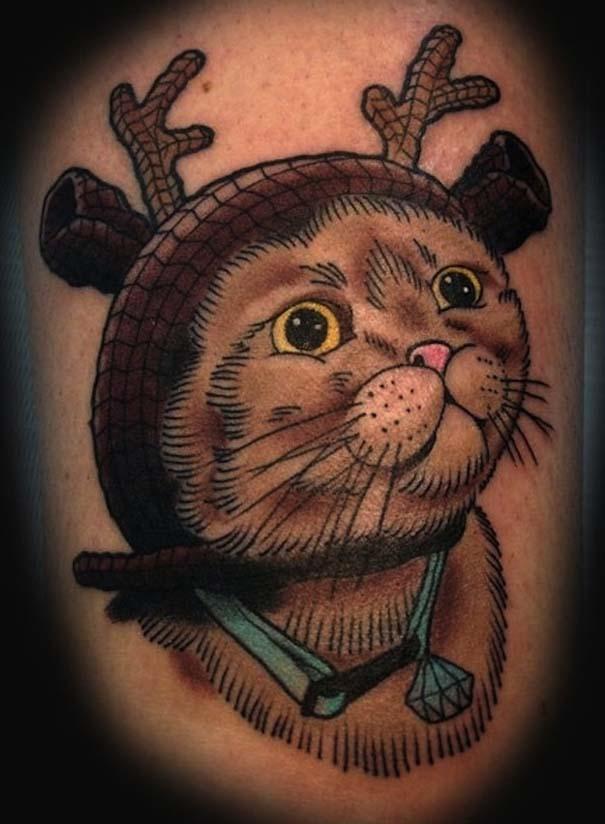 Τατουάζ με γάτες (15)