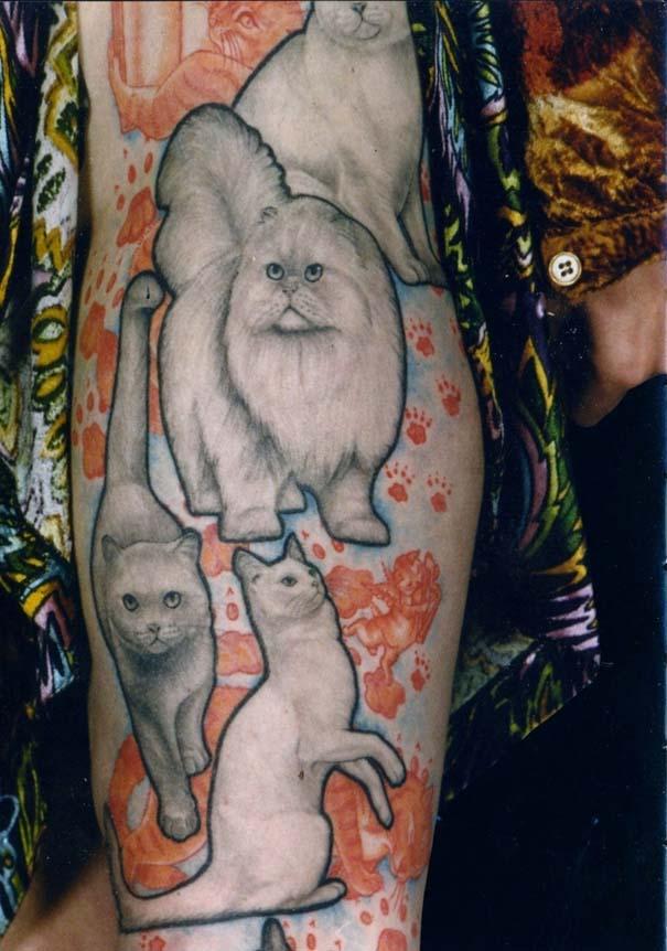 Τατουάζ με γάτες (17)