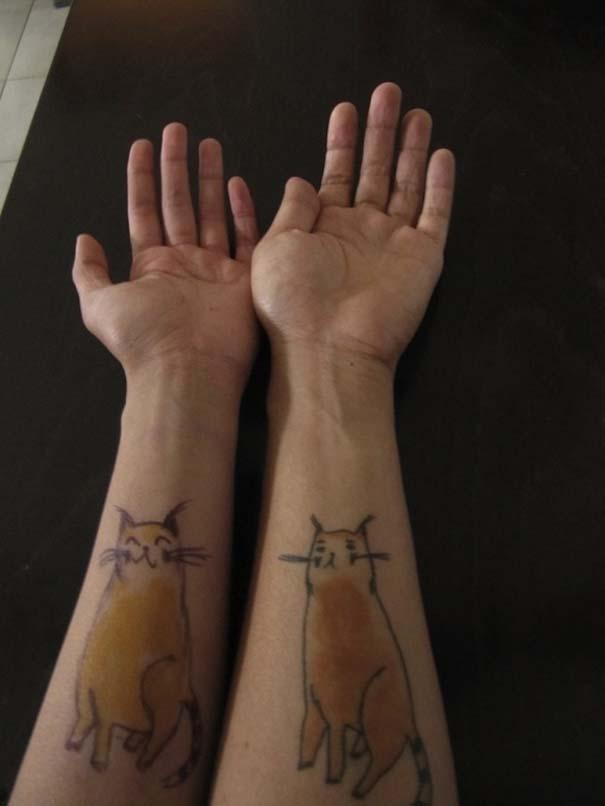 Τατουάζ με γάτες (21)